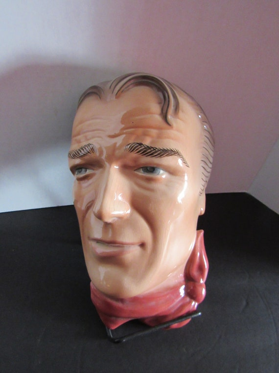 John Wayne porcelain mask