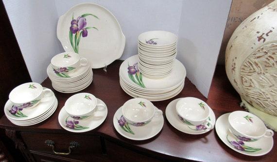 Universal Ballerina Iris Dinnerware set - 45 pieces