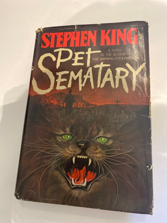 Stephen King Pet Semetary First Edition book