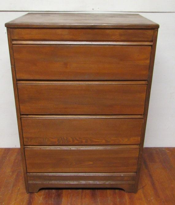 Vintage four drawer dresser