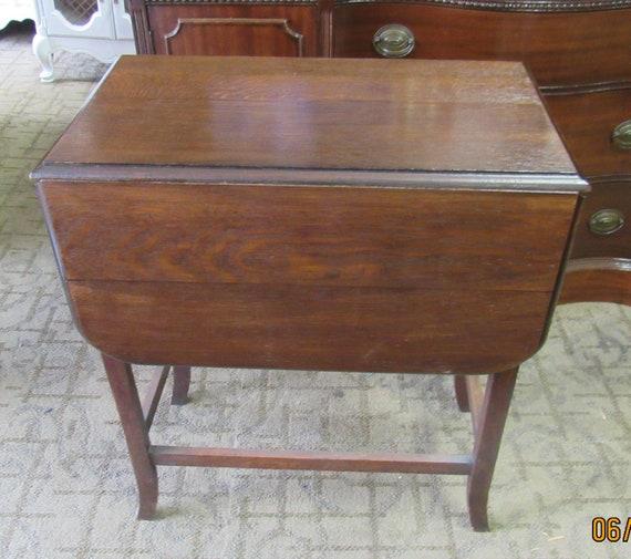 Vintage small drop leaf table