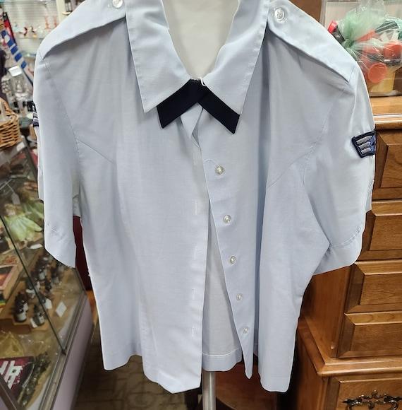 USAF female senior airman blouse.