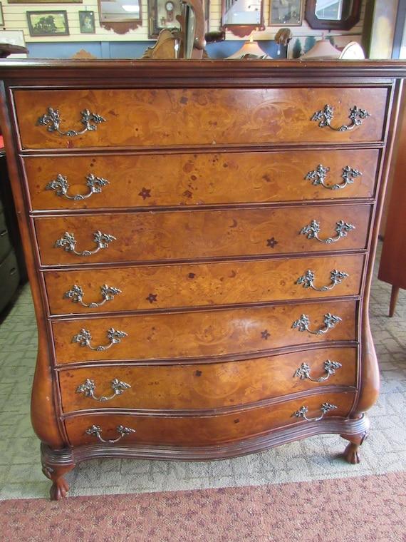 Vintage Bombe Dresser