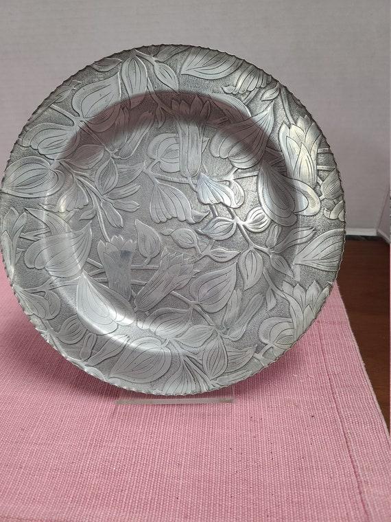 Federal aluminum plate.