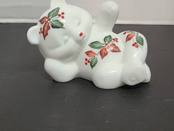 Fenton Christmas Bear with original box