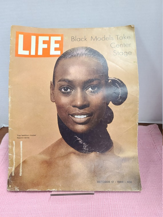 Life magazine Naomi Sims cover