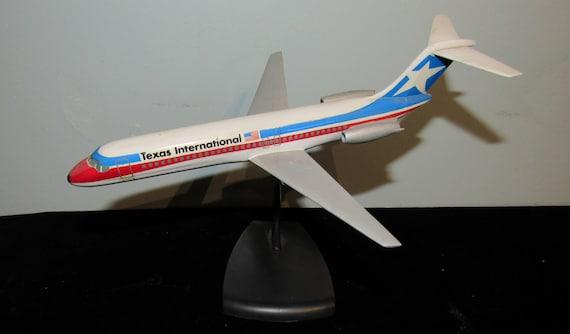 Texas International Airlines Model Plane