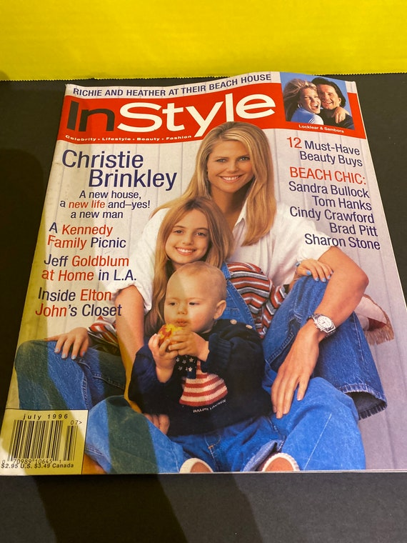 Christie Brinkley In Style Magazine