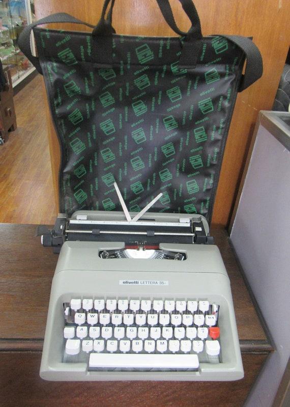 Olivetti Lettera 35 portable typewriter
