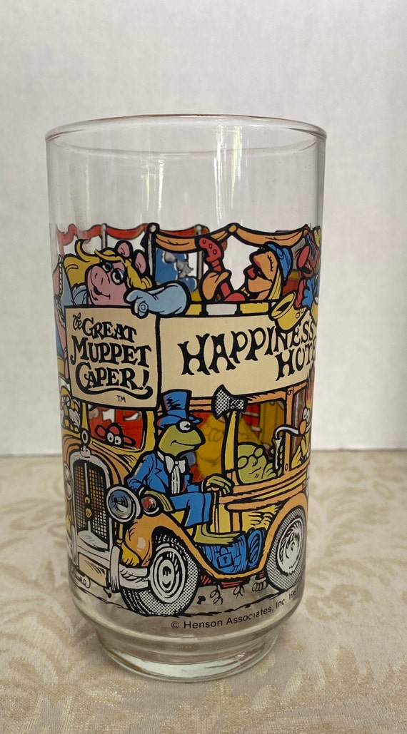 Great Muppet Caper! McDonald's  Collectable Glass
