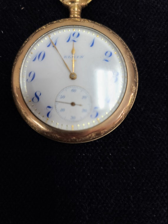 Rare Elgin pocket watch.