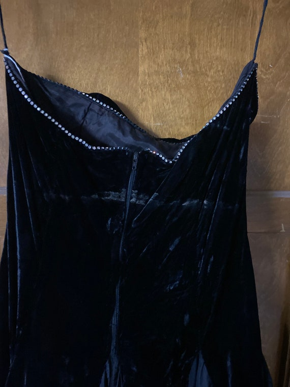 Black party dress - image 7