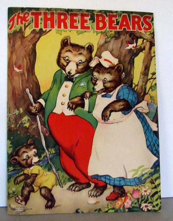 The Three Bears Linen Book