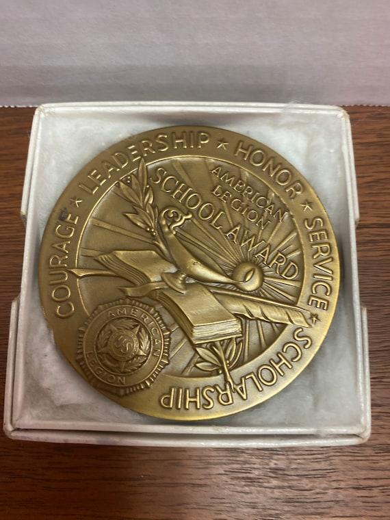 American Legion School Award with original box