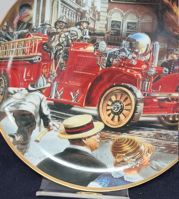 National Fire Museum collector plate