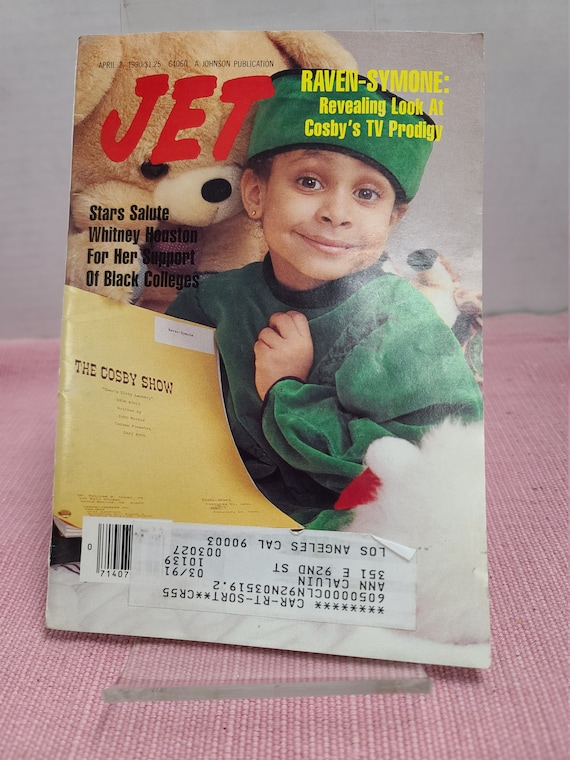 Jet magazine April 2 1990.