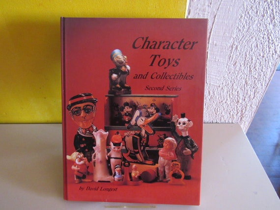Antique reference book Character Toys and Collectibles Second Series