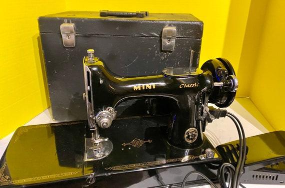 MINI Classic Sewing Machine and case