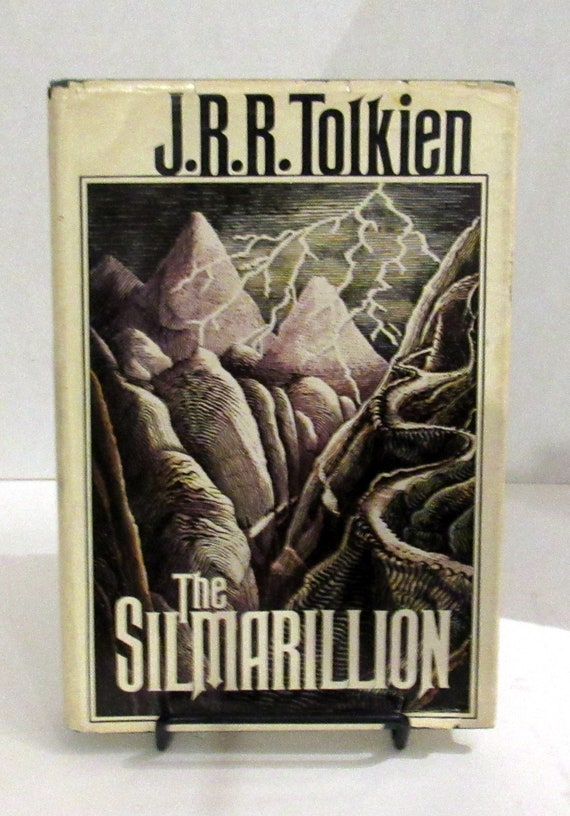 J.R.R. Tolkien The Silmarilion First American Edition book