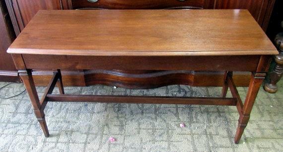 Long piano bench