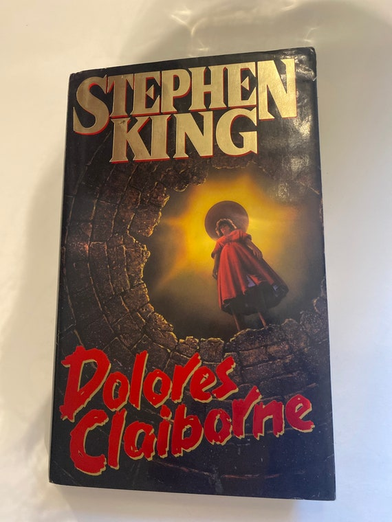 Stephen King Dolores Claiborne First Edition book