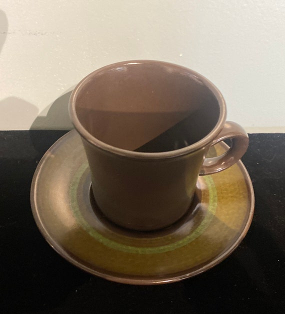 Franciscan Madeira cup and saucer