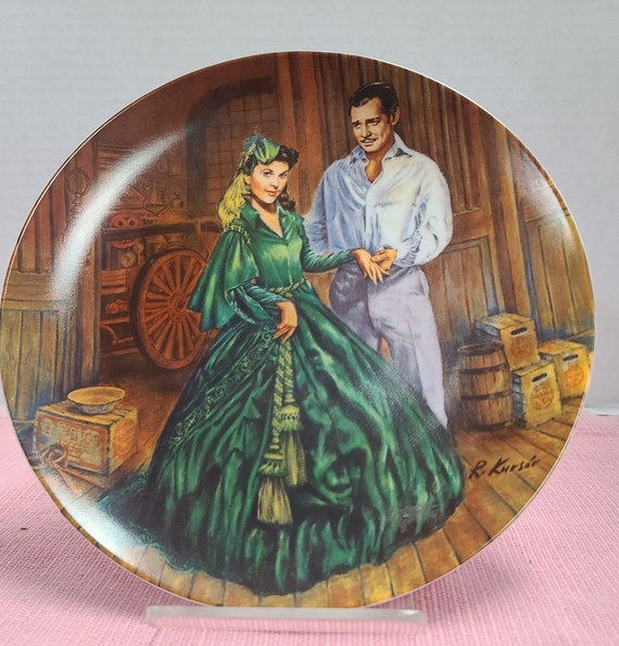 Gone With the Wind plate