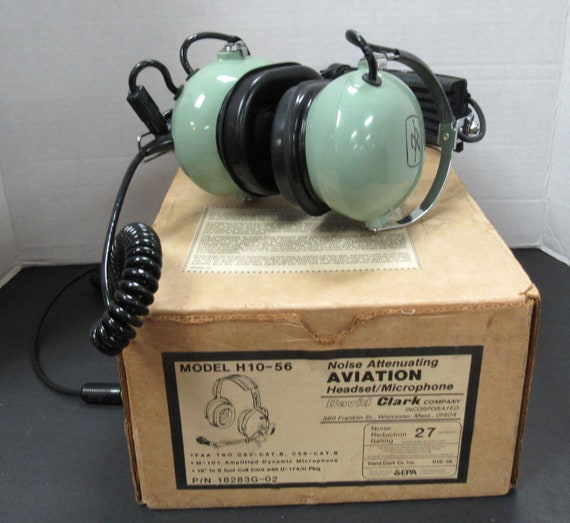 Aviation Headset and Microphone by David Clark