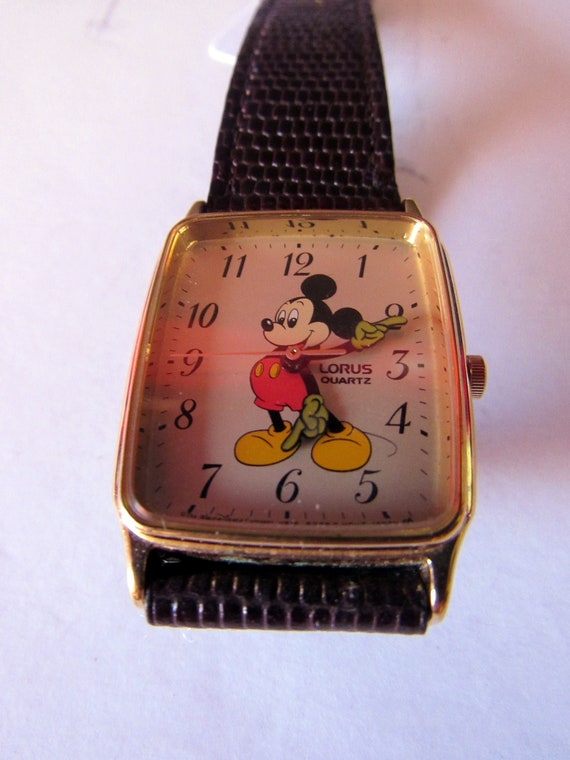 Mickey Mouse Quartz Watch by Lorus