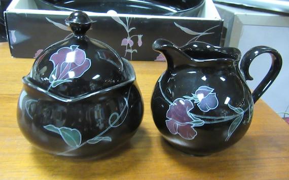 Mikasa Tango sugar bowl and creamer