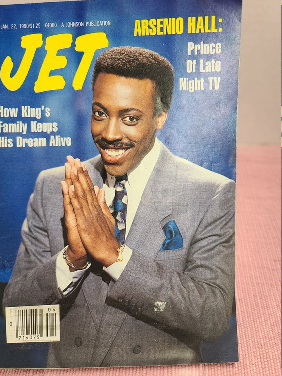 Jet magazine Jan 22 1990
