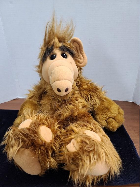 "1986 Alf 18"" plush toy."