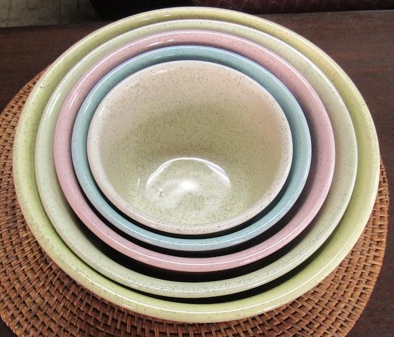 Bauer nesting bowl set