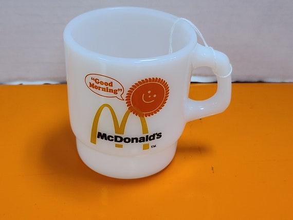 McDonald's Fire King mug