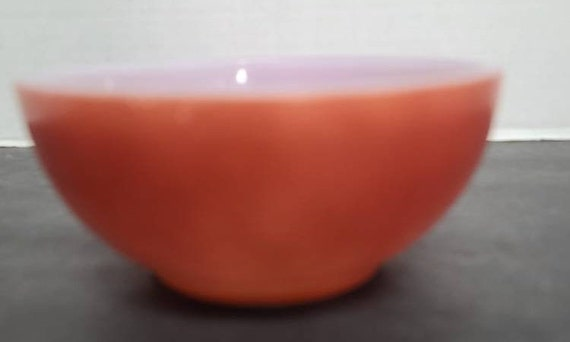 Fire King Chili Bowl Rust color