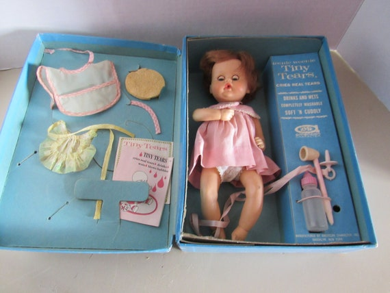 Teenie Weenie Tiny Tears doll MIB