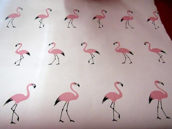 Pink Flamingo Wallpaper Roll