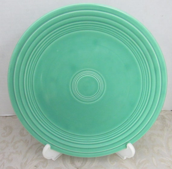 Turquoise Fiesta Dinner Plate