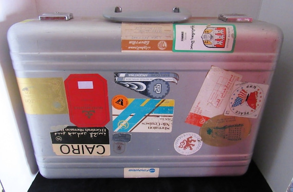 Vintage Aluminum Suitcase or briefcase