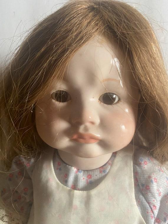 Bisque doll marked Paris