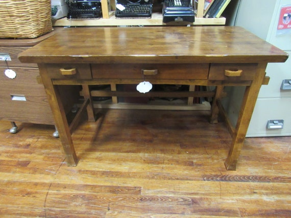 Vintage desk or writing table