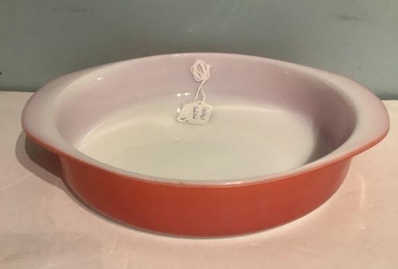 Pyrex Pink Flamingo Cake Plate