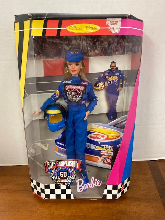 Barbie Nascar 50th Anniversary MIB