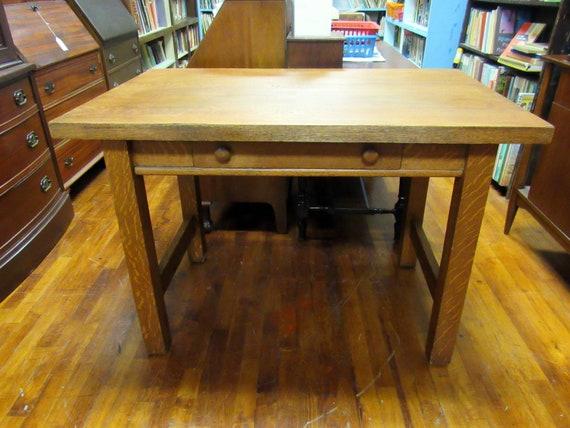 Mission Oak Desk