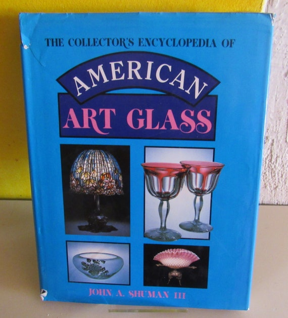 American Art Glass Reference book