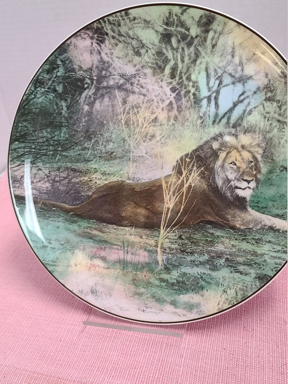 Royal Doulton African series Lion Plate
