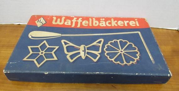 Waffelbackeri waffle maker cookies