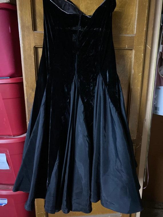 Black party dress - image 6