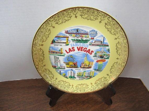 Las Vegas Souvenir Hotel plate