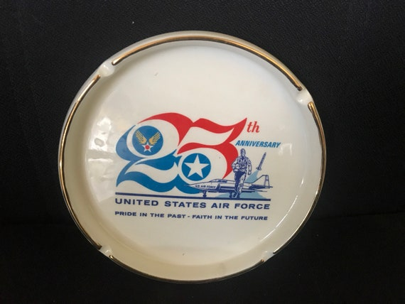 Air Force Ashtray 25th Anniversary